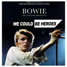 David Bowie - We Could Be Heroes Limited Edition on Blue [VINYL}