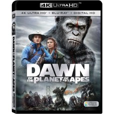 Dawn Of The Planet Of The Apes [Blu-ray] 4K ULTRA HD