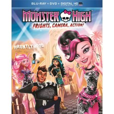 Monster High: Frights, Camera, Action! [Blu-ray] + DVD